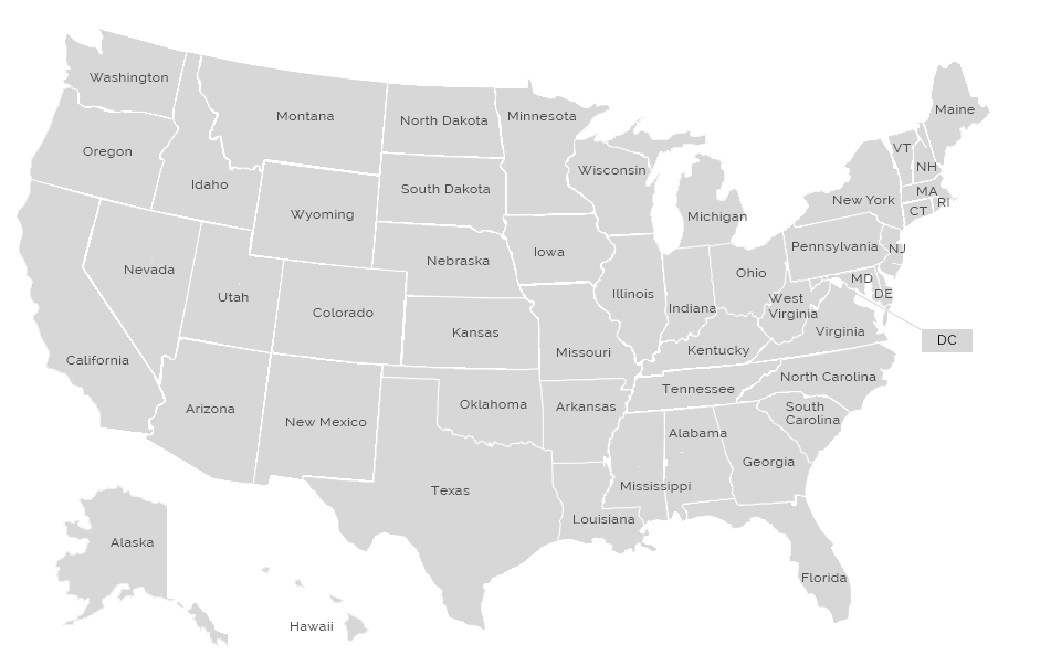 Great Teachers Leaders Great Teachers Leaders - Map of all us states